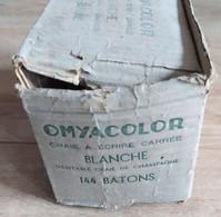 Ancienne Boite De Craies OMYACOLOR Années 1950 60 écolier école Scolaire Tableau Noir - Other