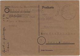 Lokale Notausgabe / Notganzsache Winterberg (Westf) P A02, Silbach (Westf) V. 6.11.1945 - American/British Zone