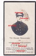 Oorlog Guerre Henri Cornille Wytschate Soldaat Grenadier Gesneuveld Te Boezinge Maart 1917 Torpedoscherf Wijtschate - Devotieprenten