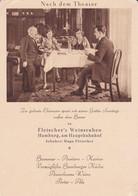 ALLEMAGNE. FLEISCHER'S WEINSTUBEN, HAMBURG AM HAUPTBAHNHOF. RESTAURANT. CARTE POSTALE. NON CIRCULEE.- LILHU - Zonder Classificatie