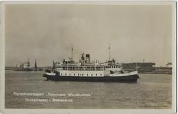 Bateau à Moteur Queen Wilhelmina Vlissingen Breskens  Motor Veerboot Koningin Wilhelmina Vlissingen Breskens - Andere