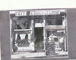 Foto Copie 17 X 11 Cm Repro  Friture Bruxelloise Markt Geraardsbergen - Geraardsbergen
