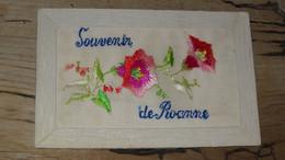 ROANNE : Carte Brodée ............... 210523-4708 - Roanne