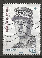 YT N° 5444-5445 - Oblitéré - C. DE GAULLE - Used Stamps