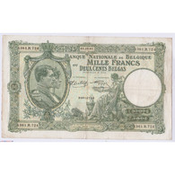 BILLET BELGIQUE 1000 FRANCS 01-10-1941 L'art Des Gents AVIGNON - 1000 Franchi & 1000 Franchi-200 Belgas