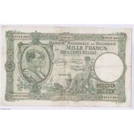 BILLET BELGIQUE 1000 FRANCS 01-04-1943 L'art Des Gents AVIGNON - 1000 Franchi-200 Belgas