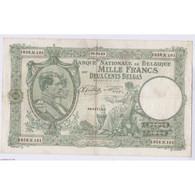 BILLET BELGIQUE 1000 FRANCS 29-03-1943 L'art Des Gents AVIGNON - 1000 Franchi-200 Belgas