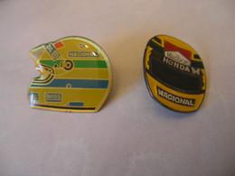 2 Pin's Casques HONDA F1 NACIONAL - F1