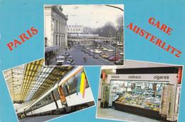 PARIS - Gare D'Austerlitz - Métro Parisien, Gares