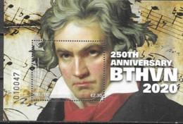 MALTA, 2020, MNH, MUSIC, BEETHOVEN, S/SHEET - Musica