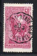 APR667 - MADAGASCAR 1939 ,   Yvert N. 216 Usato : ANNULLO AMBULANTE (CRT) - Gebraucht