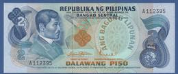 PHILIPPINES - P.152a – 2 PISO ND 1970'S - AUNC Prefix A112395 - Filipinas