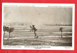WW1  GUERRE 1914-18   BRITISH ATTACK ON HOHENZOLLERN REDOUBT    B E F   OFFICIAL SERIES - Guerra 1914-18