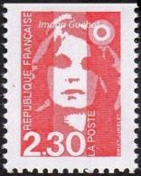 France Marianne Du Bicentenaire N° 2629 **,Briat - Dentelure 3 Cotés Non Dentelé En Haut - 1989-96 Marianne Du Bicentenaire