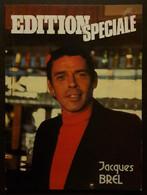 Livre 1979 En Noir Et Blanc 48 Pages Edition Spéciale Jacques BREL Edition Les Archers Bruxelles 21 X 28 Cm - Musique