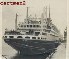 LE PAQUEBOT CHAMPLAIN COMPAGNIE GENERALE TRANSATLANTIQUE LE HAVRE BOAT BATEAU LINER SHIP - Bateaux
