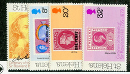 BC 7575 *Offers Welcome* 1979 Sc.328-31 Mnh** - Saint Helena Island