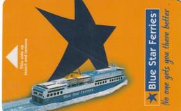 GREECE - Blue Star Ferries, Cabin Keycard, Used - Hotel Keycards