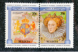 BC 7599 *Offers Welcome* 1984 Sc.635 Mnh** - St.Lucia (1979-...)