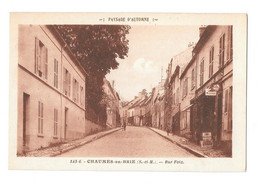 (30624-77) Chaumes En Brie - Rue Foix - Other Municipalities