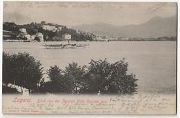 Lugano Blick Von Der Pension Villa Carmen Aus - TI Ticino