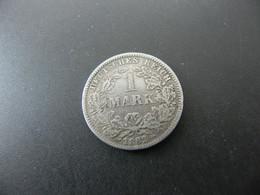 Deutschland 1 Mark 1882 G Silber Silver - 1 Mark
