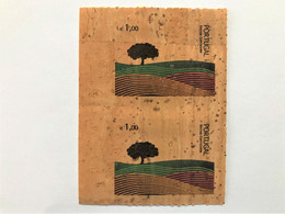 Portugal, Unused Stamps,  1 X 2 « Cork Stamp », « Sector Corticeiro », 2007 - Covers & Documents