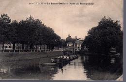 LILLE  -  La Basse Deule  -  Pont Du Ramponeau  -  Péniche  -  N° 30 - Lille