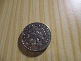 Nouvelle-Calédonie - 20 Francs 1983.N°2927. - Nuova Caledonia