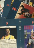 COLUCHE Lot 6 Documents- Jaquettes De Film - Videos K7 - Bon Etat - Non Classificati