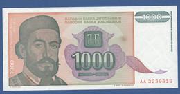 YUGOSLAVIA - P.140 – 1.000 Dinara 1994 UNC-  Prefix AA - Jugoslavia