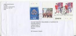 Malta To Moldova , Football , Musical Instruments ,  Military , Used Cover - Malte (Ordre De)