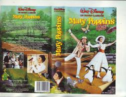 Cover / Jaquette Pour Boitier Video VHS K7 Du Film De Disney Mary Poppins - Non Classificati