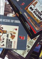 Lot 9 Documents- Jaquettes De Films - Galabru - Preboist - Lefebvre - Cowl - Non Classificati