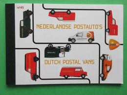 Nederland NVPH PR45 Nedelandse Postauto's 2013 Prestige Booklet MNH Postfris Europa - Heftchen Und Rollen