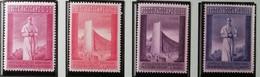 Vatican 1958 / Yvert N°257-260 / ** - Neufs