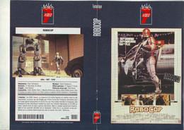 Jaquette Pour Boitier Video K7 Ou Recoupe Dvd ROBOCOP - Unclassified