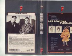 Jaquette Pour Video K7 Ou Doit Etre Possible Adapter Dvd Les Tontons Flingueurs - Unclassified