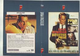 Jaquette Pour Boitier Video K7 Ou Recoupe Dvd Detective Privé Avec Paul Newman - Unclassified