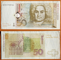 Germany 50 Marks 1996 XF P-45 - 50 Deutsche Mark