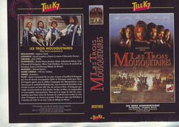 Jaquette Pour Boitier Video K7 Ou Recoupe Dvd Les Trois Mousquetaires De Herek - Unclassified