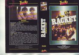 Jaquette Pour Boitier Video K7 Ou Recoupe Dvd Racket - Du Sang Sur La Tamise - Unclassified