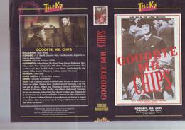 Jaquette Pour Boitier Video K7 Ou Recoupe Dvd Goodbye Mr Chips - Unclassified