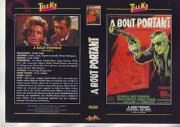 Jaquette Pour Boitier Video K7 Ou Recoupe Dvd A Bout Portant - Don Siegel - Unclassified