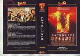 Jaquette Pour Boitier Video K7 Ou Recoupe Dvd Backdraft - De Ron Howard - Unclassified