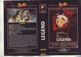 Jaquette Pour Boitier Video K7 Ou Recoupe Dvd Legend - Film De Ridley Scott - Unclassified
