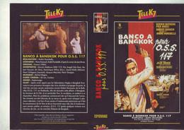 Jaquette Pour Boitier Video K7 Ou Recoupe Dvd Banco A Bangkok Pour Oss 117 - Unclassified