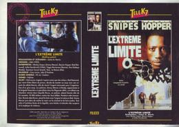 Jaquette Pour Boitier Video K7 Ou Recoupe Dvd L'extreme Limite - Snipes Hopper - - Unclassified