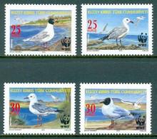 Cyprus (Turkey) 2010 MiNr. 713 - 716  Türkisch-Zypern Birds WWF 4v MNH** 3,00 € - Ongebruikt