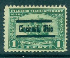 USA 1920 Sc#548 Pilgrim Tercentenary 1c Precancel FU Lot67321 - Unclassified